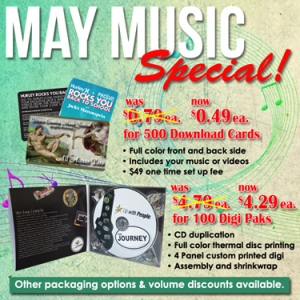 May Music Special