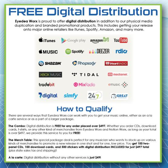 Digital Distribution Eblast